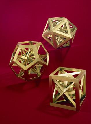 Regular polyhedra, c 1650-1691.