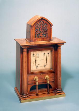Cooke and Wheatstone two-needle telegraph, 1844.
