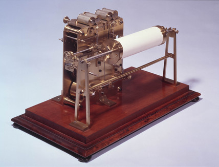 Wheatstone original printing telegraph, 184