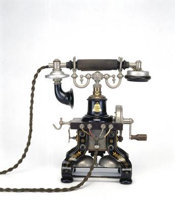 Ericson table telephone, 1890.