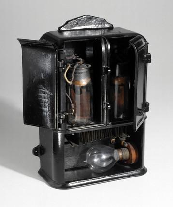Edison electrolyte meter, c 1881.