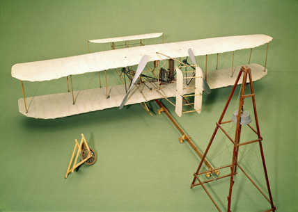 Wright Biplane Type A, c 1903.