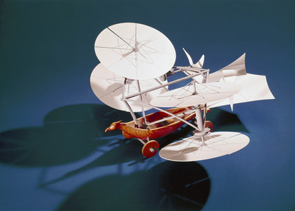 Cayley's 'aerial Carriage', 1843.