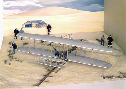 Wright Flyer, 1903.
