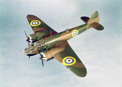 Bristol Blenheim bomber, 1939.