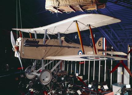 SE5a fighter, 1917.