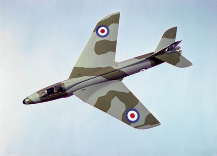 Hawker Hunter, c 1953.