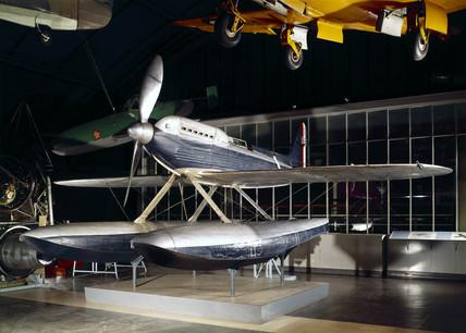 Supermarine Rolls Royce Seaplane, S6B S1595, 1931.