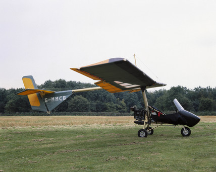 Huntair Pathfinder II microlight aircraft, 1983.
