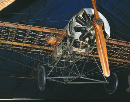 German Fokker E III Monoplane, 1915.