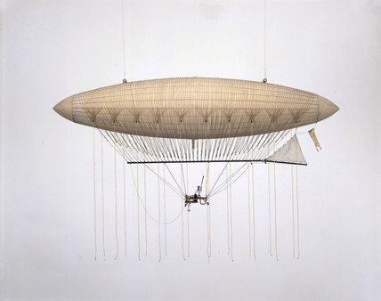 The Giffard Airship, 1852.
