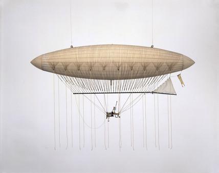 The Giffard Airship, 1852.