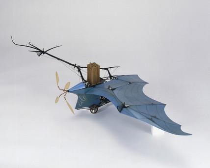 Ader's 'Eole' flying machine, 1890.