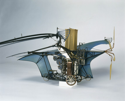 Ader's 'Eole' flying machine, 1890.