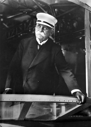 Count Ferdinard von Zeppelin, German airship maker, c 1900.
