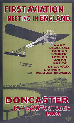 'First Aviation Meeting in England', Doncaster, 1909.