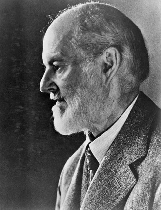 Sir Henry Royce, English engineer, c 1920.