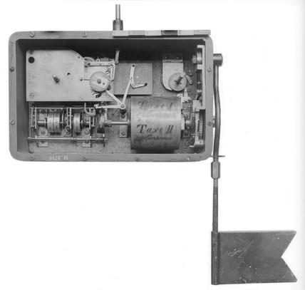 Gruner taximeter.