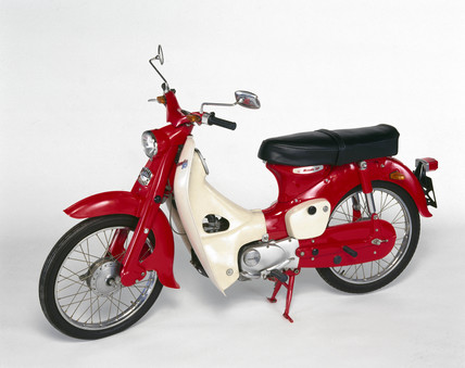 Honda Moped on Honda C50 Moped  1965     High Quality Art Prints  Canvases  Postcards