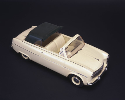 Ford Consul I convertible, 1951.