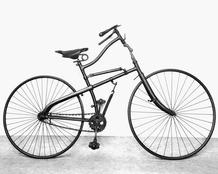 Whippet spring frame safety bicycle, 1885.