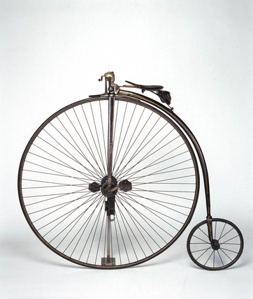 Ordinary bicycle, c.1878 (Science Museum / Science & Society)