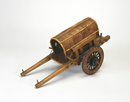 Primitive cart.