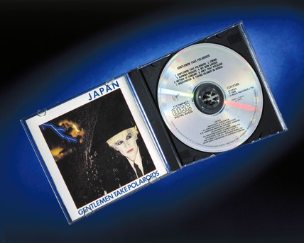 Compact disc (CD) by the group 'Japan', 1985.