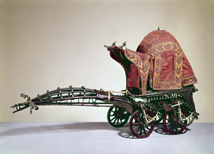 Oriental ceremonial coach.