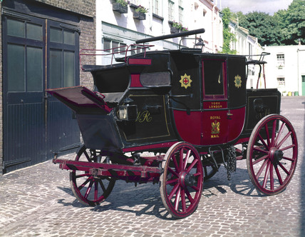 Royal Mail Coach, 1827.