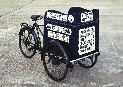 Ice cream delivery tricycle (credit: Science Museum / Science & Society)