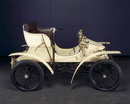 Vauxhall 5 hp motor car, 1903.