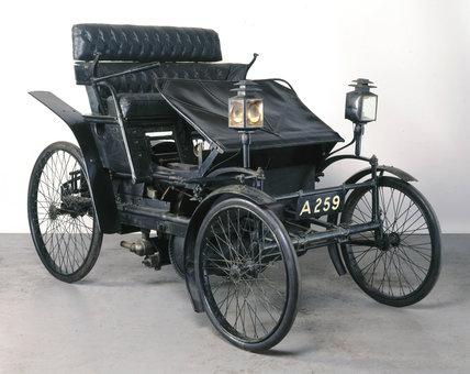 Lanchester motor car 'No 2', 1897.