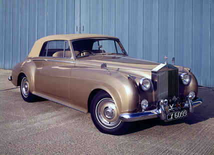 Rolls Royce Silver Cloud II Drophead Coupe, 1961.