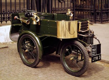 Sunbeam Mabley motor car, 1901.