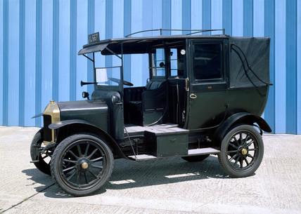 Unic taxicab, 1922.