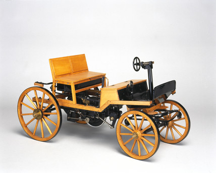 Siegfried Marcus petrol motor car, 1875.