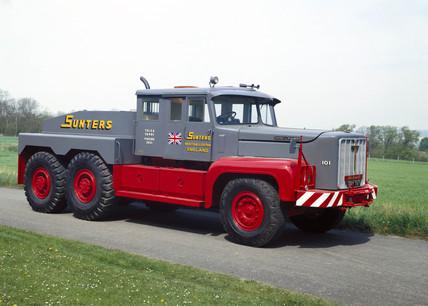 Rotinoff GR7 Atlantic road tractor, 1957.