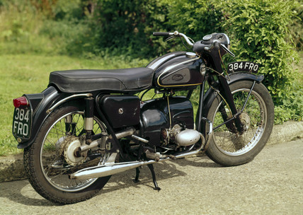 Velocette Valiant motorcycle, 1959.