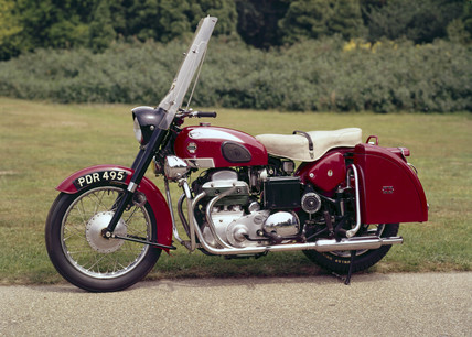 Ariel Square Four motorcycle, 1959.