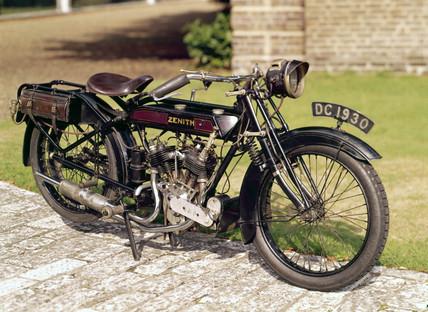 Zenith 'Gradua' motorcycle, 1920.