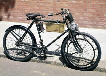 Werner motor bicycle, 1899.