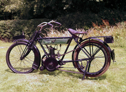 Levis motorcycle, 1916.