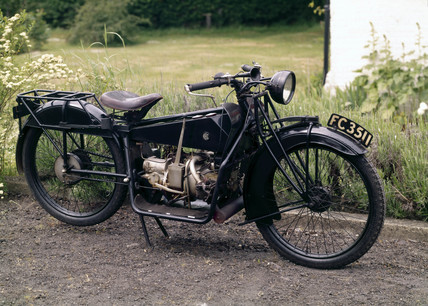 ABC 3 hp motorcycle, 1921.