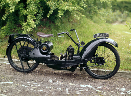 Ner-a-car motorcycle, 1925 (Science Museum / Science & Society)