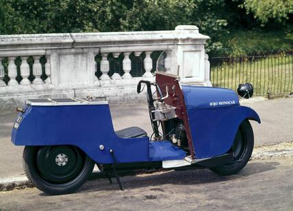 The Avro monocar, 1926.