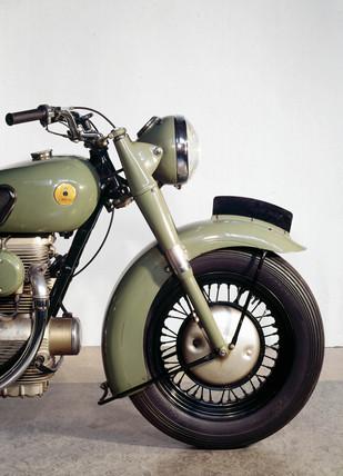 Sunbeam S7 500cc motorcycle, 1951.