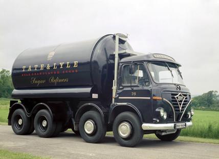 Foden tanker truck, 1970.