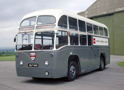aeC Regal IV bus, 1953.