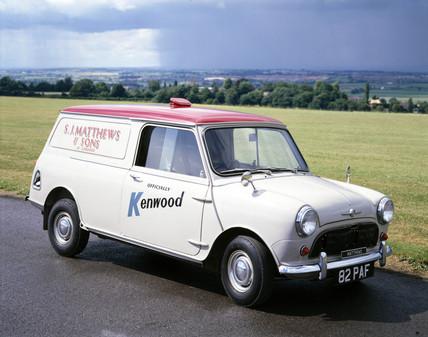 Morris Minivan, 1961.